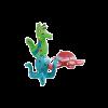 Karlie-Flamingo Игрушка д-собак в ассортим. морск обитатели 11*7*8см латекс (501977)