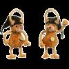 """Karlie-Flamingo Игрушка д-собак """"Маленькая обезьянка"""" полосатая с хвостом веревка  (504391)"""