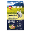"""Сухой корм """"Ontario"""" Senior 6,5кг д-пожилых собак малых пород ягненок-рис"""