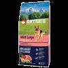 "Сухой корм ""Ontario"" Adult Large 2.25кг д-крупных пород говядина-рис"