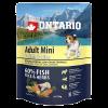 """Сухой корм """"Ontario"""" Adult Mini  750г д-малых пород 7 видов рыб"""