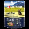 "Сухой корм ""Ontario"" Adult Mini  750г д-малых пород ягненок-рис"