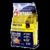 "Сухой корм ""Ontario"" Adult Mini  2,25кг д-малых пород ягненок-рис"