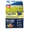 """Сухой корм """"Ontario"""" Pappu Mini 2,25кг д-щенков малых пород ягненок-рис"""