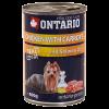 "Консервы ""Ontario"" 800г д-собак курица-морковь"