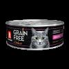 Консервы Зоогурман Grain Free 100г д-кошек индейка