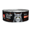 Консервы Зоогурман Grain Free 100г д-кошек перепелка