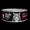 Консервы Зоогурман Grain Free 100г д-кошек утка