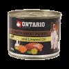 """Консервы """"Ontario"""" 200г д-малых пород собак телятина-батат"""