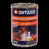"""Консервы """"Ontario"""" 400г д-собак оленина-клюква"""