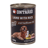 "Консервы ""Ontario"" 800г д-собак ягненок-рис"