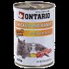 "Консервы ""Ontario"" 400г д-кошек курица-кролик"