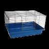 ЗооЛайф Клетка д-морских свинок и кроликов №1 50*35*30см складная (1301)