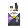"Сухой корм ""Opti Life"" 12,5кг д-собак с повыш. активностью курица-рис."