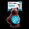 """Petstages ОН игрушка д/собак Tootiez """"Медведь"""" латекс с пищалкой 22см (67813)"""