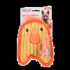 """Petstages ОН игрушка д/собак Invinc Mini """"Цыпленок"""" без наполнителя 17см (67805)"""