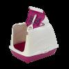 """Moderna Туалет-домик """"Flip"""" с угольным фильтром 50*39*37см ярко-розовый (24644)"""