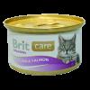 """Консервы """"Брит"""" Care Cat 80г д-кошек тунец-лосось"""