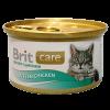 """Консервы """"Брит"""" Care Cat 80г д-котят цыпленок"""