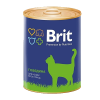 "Консервы ""Брит"" Premium 340г д-кошек говядина"