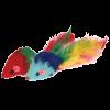 """Triol Игрушка """"Мышь 2"""" маленькая с погремушкой -пером (SH03)"""