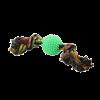 """Triol Игрушка-Грейфер """"Два узла"""" 17см с игольчатым мячом д-собак (0057XJ)"""