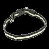 Ошейник Пижон подсветкой L- 45-50см 3 режима. бело-черный (1039587)