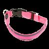 Ошейник Пижон подсветкой М- 40-45см 2 осветотр. полоски 3 режима. розовый (1039601)