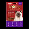"Лакомства Колбаски ""Molina"" 5г д-кошек индейка-заяц"