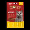 """Лакомства Колбаски """"Molina"""" 5г д-кошек курица-печень"""