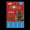 """Лакомства Колбаски """"Molina"""" 5г д-кошек лосось-форель"""