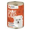 """Консервы """"Smart Dog"""" 240г д-собак/щенков мясное ассорти в неж. соусе"""