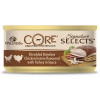 "Консервы ""Wellness Core"" 79г д-кошек курица/кур. печень в соусе в виде фарша"