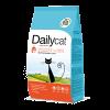 "Сухой корм ""Daily Cat"" 1,5кг д-кошек вывод шерсти индейка-рис"