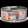 """Консервы """" Monge Cat """" Natural 80г д-кошек тихоокеанский тунец с лососем"""
