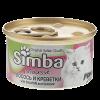 """Консервы Monge """" Simba Cat """" Mousse 85г д-кошек лосось-креветки"""