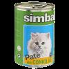 "Консервы Monge "" Simba Cat "" паштет 400г д-кошек кролик"