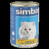 "Консервы Monge "" Simba Cat "" паштет 400г д-кошек рыба"