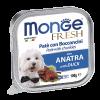 "Консервы ""Monge Dog"" Fresh 100г д-собак утка"
