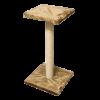 ЗооЭкспресс Когтеточка с полкой джут 65 см (38102)