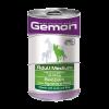 """Консервы Monge """"Gemon Dog"""" Medium 1.25кг кусочки д-cобак средних пород ягненок с рисом"""