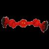"""Triol Игрушка """"Веревка Два узла и мяч"""" 23см д-собак (12111067)"""
