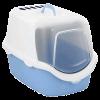 """Туалет-домик Stefanplast """"Cathy Easy Clean"""" с угольным фильтром  56*40*40 голубой (23181)"""