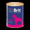 """Консервы """"Брит"""" Premium 850г д-собак с сердцем и печенью"""