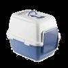 """Stefanplast Туалет-домик """"Cathy Comfort"""" с угольным фильтром и совком 58*45*48см голубой"""