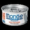 "Консервы "" Monge Cat "" Monoprotein хлопья 80г д-кошек из индейки"