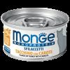 """Консервы """" Monge Cat """" Monoprotein хлопья 80г д-кошек из индейки с морковью"""