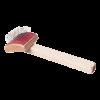ЗооЭкспресс Пуходерка деревянная малая с каплей (23022)