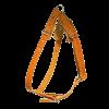 ЗооЭкспресс Шлейка однослойная 18мм до 75см кожа - черная д-собак (0840К)