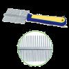 Triol Расческа двухстор. сине-желтой ручкой (Рк-01700)